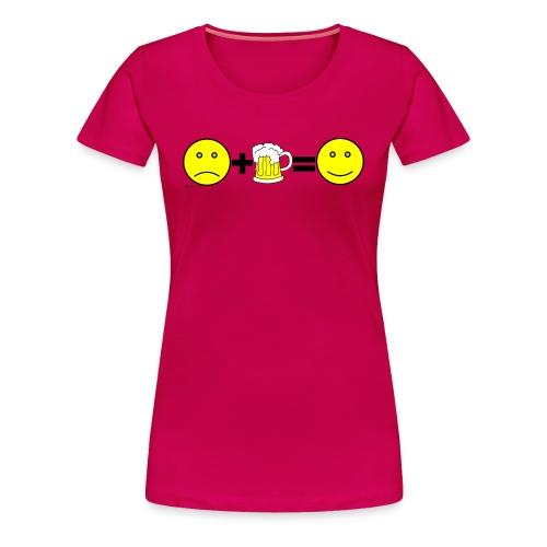 Beer: Liquid Happiness Women's Plus Size T-Shirt - Women's Premium T-Shirt