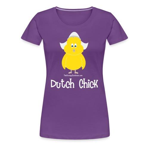 Dutch Chick (white) - Women's Premium T-Shirt