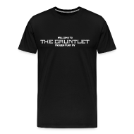 T-Shirts ~ Men's Premium T-Shirt ~ Welcome to The Gauntlet