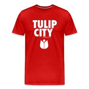 Tulip City (white) - Men's Premium T-Shirt