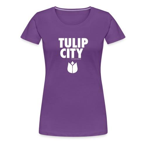 Tulip City (white) - Women's Premium T-Shirt