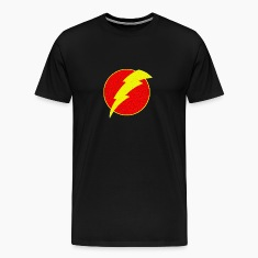 super, superhero, retro, lightning, bolt,
