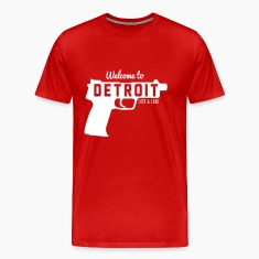 Welcome to Detroit. Lock and Load T-Shirts