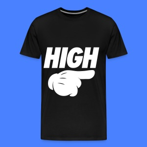 High Pointing Right T-Shirts - Men's Premium T-Shirt