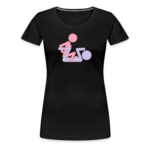 FF Pose #1 - wb - Women's Premium T-Shirt