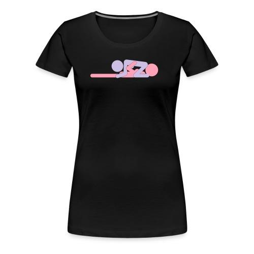 FF Pose #5 - wb - Women's Premium T-Shirt