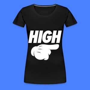 High Pointing Right Women's T-Shirts - Women's Premium T-Shirt