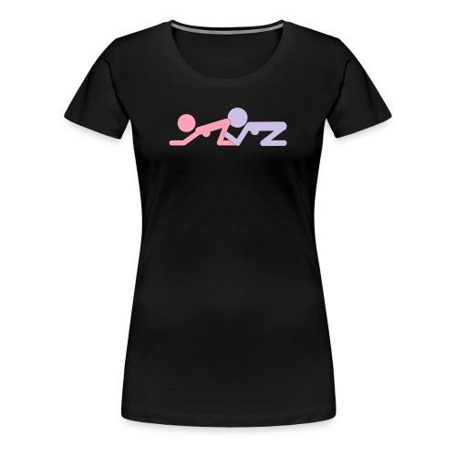 FF Pose #4 - wb - Women's Premium T-Shirt
