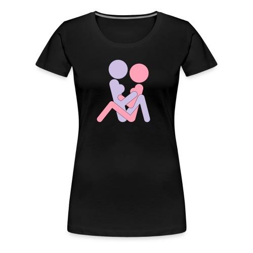 FF Pose #2 - wb - Women's Premium T-Shirt