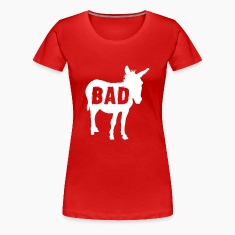 Bad Ass Donkey Women's T-Shirts