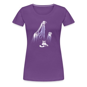 Story of the Ghost  - Women's Premium T-Shirt