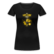 Women's T-Shirts ~ Women's Premium T-Shirt ~ Awesome Sauce (Fitted) [F]