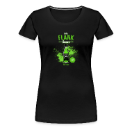 T-Shirts ~ Women's Premium T-Shirt ~ Flank Sauce (Fitted) [F]