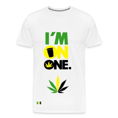 GLC - Im On One T-shirt - Men's Premium T-Shirt