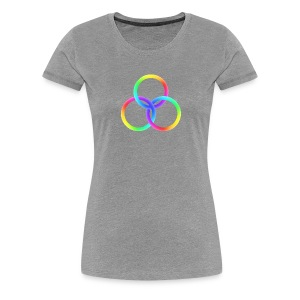 God's Spectrum of Light - Women's Premium T-Shirt