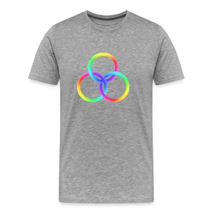 God's Spectrum of Light - Men's Premium T-Shirt