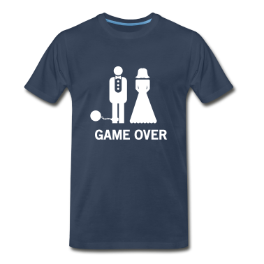 Wedding. Game Over Ball and Chain T-Shirts