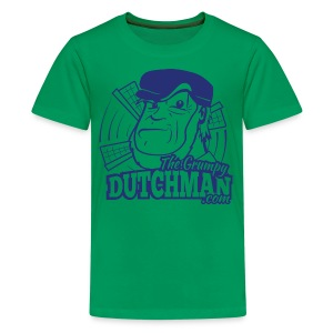 Grumpy Logo (Single Color) - Kids' Premium T-Shirt