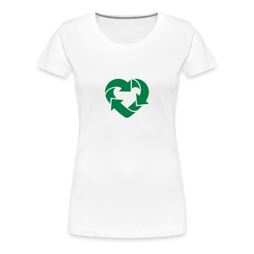 Love to Recycle - Women's Premium T-Shirt