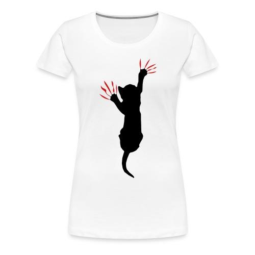Cat Scratch - Women's Premium T-Shirt