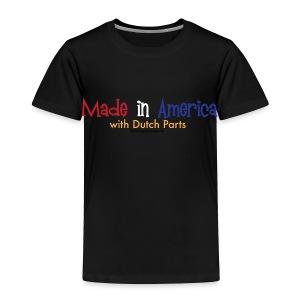 Dutch Parts - Toddler Premium T-Shirt