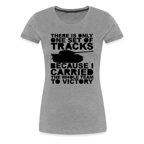 Carry Harder (Women) - Women's Premium T-Shirt