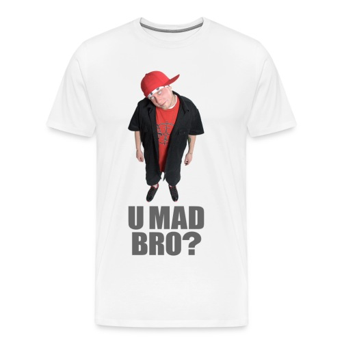 AJ Jordan U Mad Bro? T-Shirt 3-4XL (ALL COLORS) - Men's Premium T-Shirt