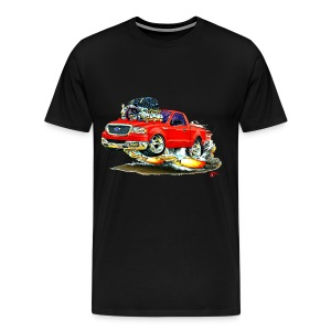 F150 red truck - Men's Premium T-Shirt