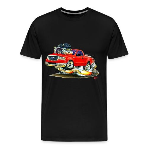 F150 red truck - Men's Premium T-Shirt