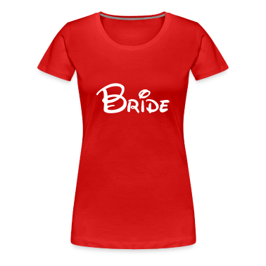 Cute Bride Women's T-Shirts