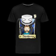 T-Shirts ~ Men's Premium T-Shirt ~ Chilled is Slenderman (Heavy T-Shirt)