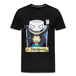 Chilled is Slenderman (Heavy T-Shirt) - Men's Premium T-Shirt