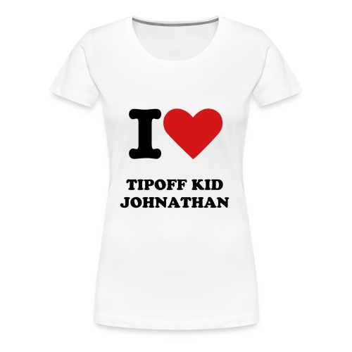 I love Johnathan Shirt - Women's Premium T-Shirt