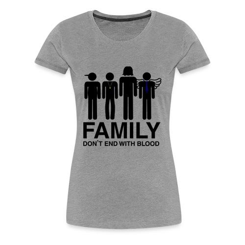 Supernatural Family-Women's - Women's Premium T-Shirt