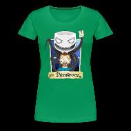 Women's T-Shirts ~ Women's Premium T-Shirt ~ Chilled is Slenderman (Womans T-Shirt)