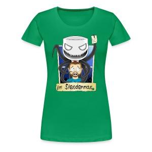 Chilled is Slenderman (Womans T-Shirt) - Women's Premium T-Shirt