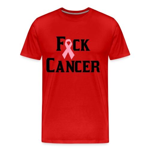 F*%$ Cancer - Men's Premium T-Shirt