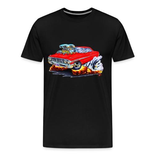 64 Galaxie red car - Men's Premium T-Shirt