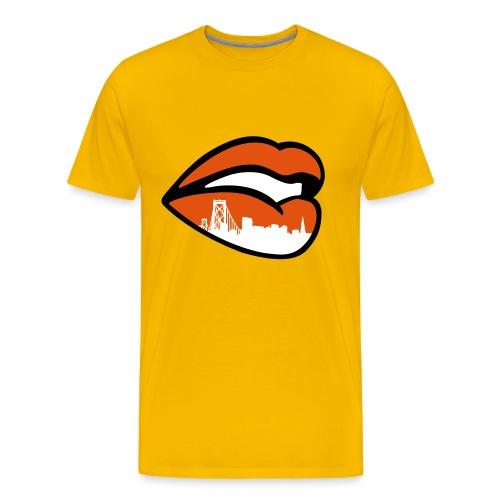 Don't talk about my city. - Men's Premium T-Shirt