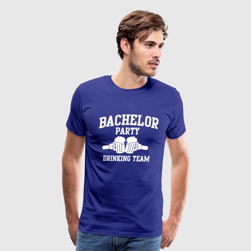 Bachelor Party Drinking Team T-Shirts - Men's Premium T-Shirt