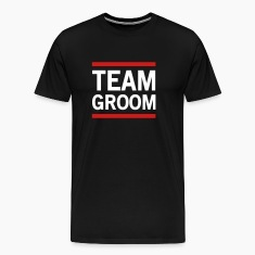 Team Groom Lined T-Shirts