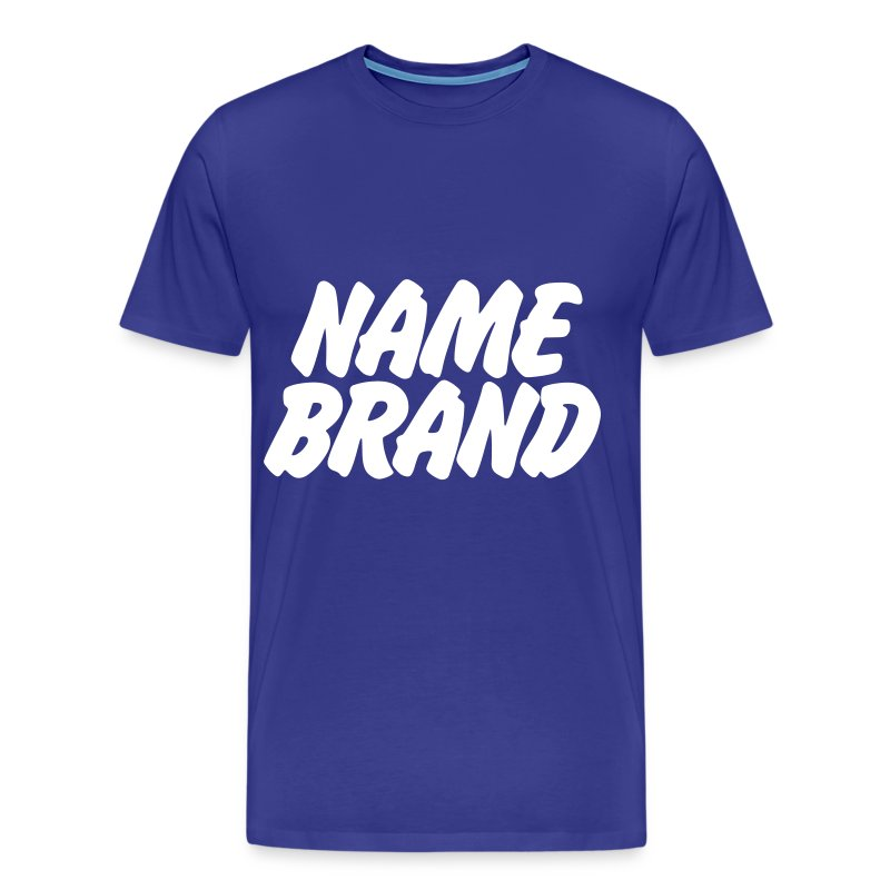 Name brand t shirt spreadshirt Premium t shirt brands