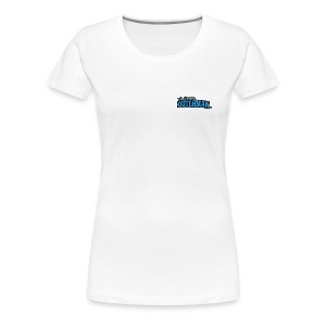 Grumpy Logo - Back (with dark lines for lighter shirts) - Women's Premium T-Shirt