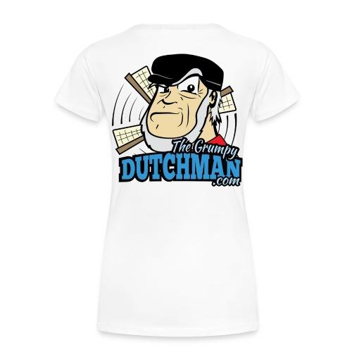Grumpy Logo - Back (with dark lines for lighter shirts) - Women's Premium T-Shirt