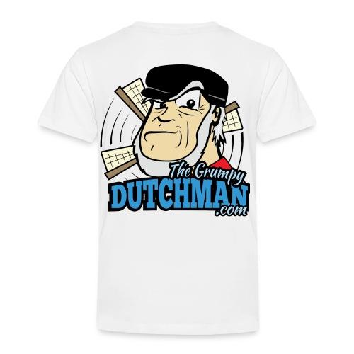 Grumpy Logo - Back (with dark lines for lighter shirts) - Toddler Premium T-Shirt