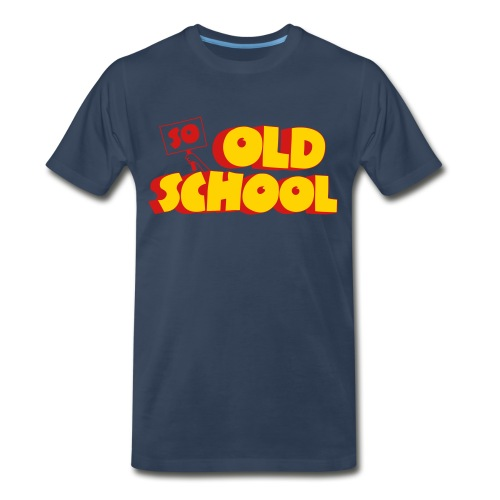 So Old School - Men's Premium T-Shirt