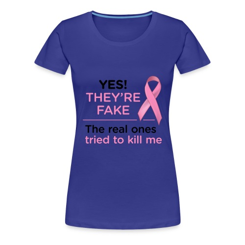 Breast Cancer - Women's Premium T-Shirt