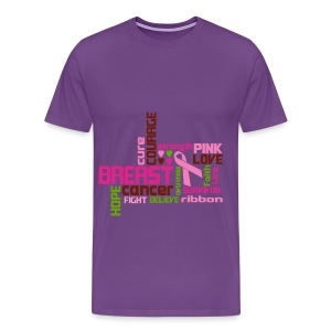 Breast Cancer - Men's Premium T-Shirt