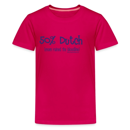 Bloodline - Mom (with blue lettering for lighter shirts) - Kids' Premium T-Shirt