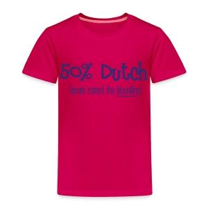 Bloodline - Mom (with blue lettering for lighter shirts) - Toddler Premium T-Shirt
